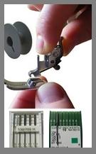 Materiel pour machine � coudre