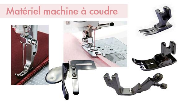 Matériel machine à coudre